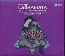 Verdi la Traviata CD NEW Riccardo Muti Scotto Kraus Bruson