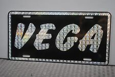 RETRO 1970'S PRISM VEGA METAL LICENSE PLATE 70'S STREET FREAK COSWORTH CHEVY 454