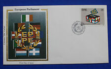 "Ireland (591) 1984 European Parliament Colorano ""Silk"" FDC"