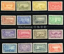 BAHAMAS 1948 SG 178-193 SC 132-147 VF OG MLH * SCARCE, COMPLETE SET 16 STAMP