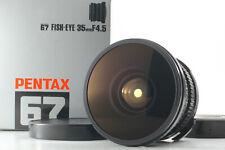 【TOP MINT IN  BOX】 Pentax SMC 67 6x7 67 II 35mm f/4.5 Fish-eye Lens From Japan