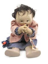 Jan Shackelford Baby Doll 1995 Ooak Sneakers n Lace Pastime #234 Black Hair Soft