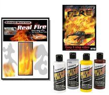 Richard Markham Kit completo fiamme DVD + stencils + colori