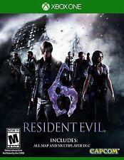 Resident Evil 6 XBOX ONE NEW! WALKING DEAD ZOMBIES HUNT TERRORISM, UMBRELLA GORE