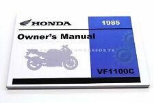 Honda Vf1100c VF 1100 C V65 V-65 Magna 1985 Owners Riders Manual Book OEM