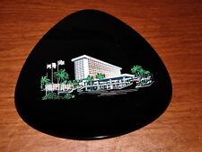 Mid Century Modern Architecture MARRIOTT HOTEL Advertising Glass Tray-Las Vegas