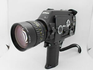[As-Is ALL WORKS] Nikon R10 SUPER 8mm Movie Camera 7-70mm f/1.4  From JAPAN