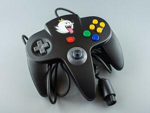 Manette Nintendo 64 officielle grise foncé