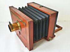 Antique Scovill Mfg Co Wood Box Camera