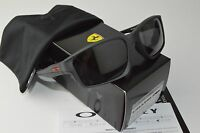 NEW Oakley Chainlink Sunglasses Steel Frame Black Iridium Lens OO9247 13