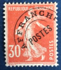 Preos N° 58 30 C Rouge Neuf * (plis D'angle) Beau Cote 160€