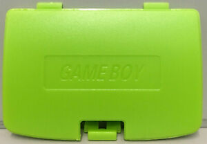 BATTERY COVER BATTERY DOOR LIME GREEN SUIT NINTENDO GAMEBOY COLOR - GBC