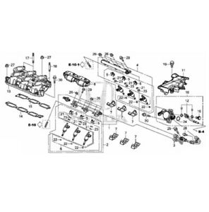 🔥 Genuine Fuel Injector Set for Honda Odyssey Pilot Ridgeline 16010RLV315 🔥
