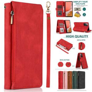 Zipper Pocket Flip Leather Wallet Case For Oppo Find X2 X3 Pro/X2 Neo/X2 Lite