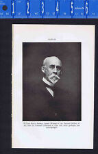 William Henry Holmes - American Explorer- 1934 Print