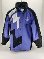 SALT LAKE CITY 2002 Winter Olympics Jacket Hooded Ski Coat XS made by Marker