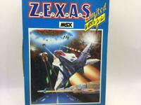 ZEXAS Limited MSX MSX2 Game cartridge Manual Boxed set tested