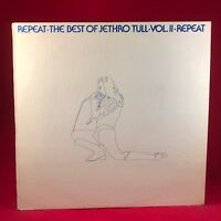 Repeat The Best Of Jethro Tull Vol. II 1977 UK vinyl LP EXCELLENT CONDITION two