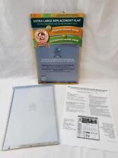 EXTRA LARGE REPLACEMENT FLAP RFXLN DOG DOOR IDEAL PET ALUMINUM & PLASTIC FRAME