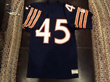 VINTAGE SAND KNIT GARY FENCIK CHICAGO BEARS JERSEY MENS SMALL