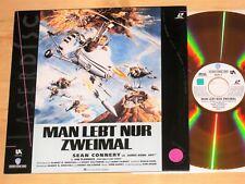 Laserdisc - James Bond 007 - Man lebt nur zweimal - Sean Connery