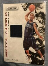 2009 Eric Maynor Rookie And Stars Jersey Patch Card Jazz Panini Rookie And Stars