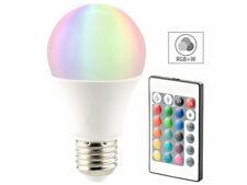 LED Lampe, Color RGB & Warmweiß, E27, 10 Watt, mit Fernbedienung
