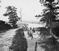Confederate Gun Emplacement Battery James River 1865 New 8x10 US Civil War Photo