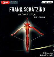 Frank Schätzing - Tod und Teufel DIE LESUNG 2 MP3 CDs NEU Krimi Thriller Hörbuch