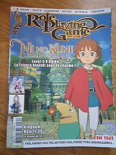REVUE MAGAZINE ** ROLE PLAYING GAME n°35 ** JEUX VIDEOS RPG NI NO KUNI HEARTS