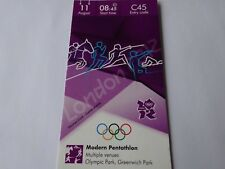 London 2012 Olympic Games MODERN PENTATHLON ticket 11th August CAT A! *20% OFF*