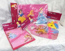 Disney Princess Party Stuff-Invitations, sacs, ballons, table cloth-Entièrement NEUF dans sa boîte
