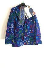 SuitMeister Kids Graphic Doodle Christmas 3 Piece Suit  Blue Multicolored