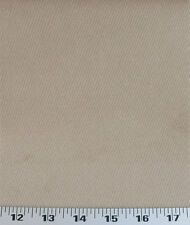 Drapery Upholstery Fabric Corduroy Textured Cloth Backed Suede - Oatmeal Tan