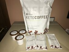 It works KETOCOFFEE 18 single packets PLUS 3 PODS keto Coffee