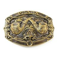 Belt buckle Tobacco pipes , Calumet belt buckle, gift for pipes smokers