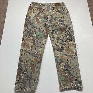 "Wrangler Rugged Wear Camo Jeans Pants Advantage Men's 34x30"" Measured"