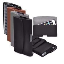 PU Faux Leather Horizontal Belt Holster Case Cover for Google Phone Models