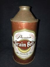 Grain Belt Premium ~ Cone Top Beer Can ~ Minneapolis Brewing Company