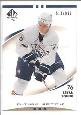 BRYAN YOUNG 2007-08 SP Authentic FUTURE WATCH RC x/999 #175