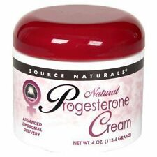 Natural & Safe Progesterone Cream for All Women Menopausal & Hot Flashes 4oz