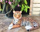 Large Royal Bengal Tiger Resting Gracefully 15.5