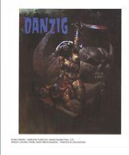 """Danzig Thrall Demonseatlive Sticker 5""""x 5"""" Vintage heavy Metal 1994"""