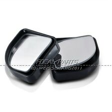 2X Car Truck Adjustable Side Rearview Blind Spot Rear View Auxiliary Mirror J56