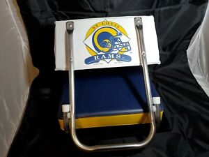 VINTAGE 1995 ST.LOUIS RAMS BLEACHER SEAT.N UNUSED EX COND MANCAVE FREE SHIPPING