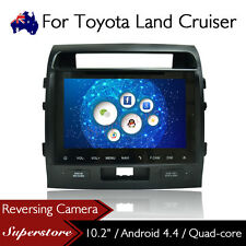 "10.2"" Android Quad Core Nav Car DVD GPS Player For Toyota Land Cruiser 2007-2015"
