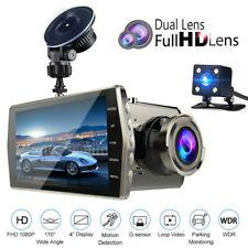 "4"" 1080P In-Car DVR Dash Cam Digital Video Recorder Camera G-sensor Night Vision"