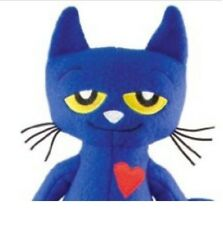 """Pete The Cat 14"""" Doll White Shoes Stuffed Animal Plush I Love My Shoes Merry Toy"""