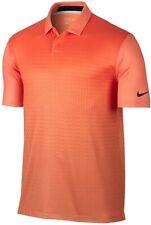 Nike 243176 Mens Short Sleeve Collared Polo T-Shirt Electro Orange Size Small