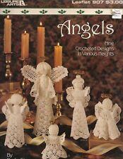 "La ""Angels"" Thread Crochet Pattern 9 Designs #907"